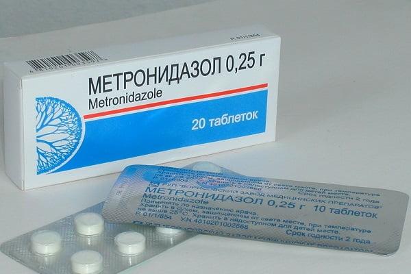 кдозировка метронидазола при цистите