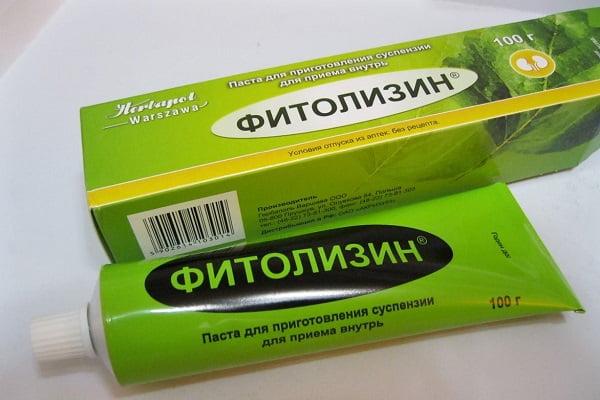 Фитолизин при цистите фото