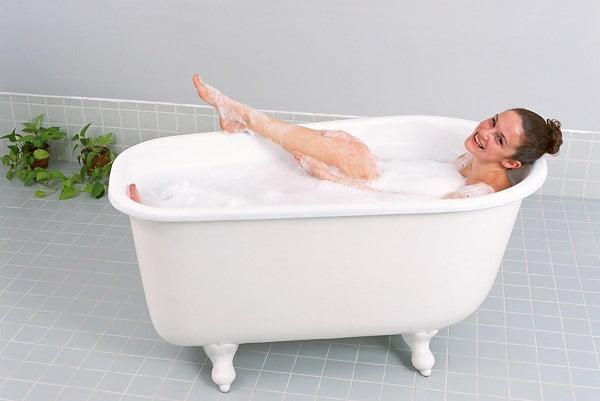 Можно ли женщинам при цистите греться в ванной