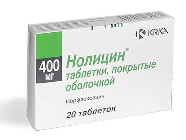 Нолицин курс лечения при цистите