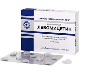 Левомицетин против цистита